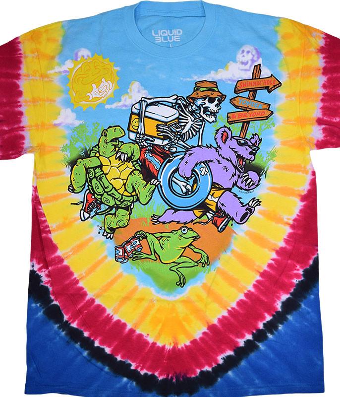 Tubin' Tie-Dye T-Shirt