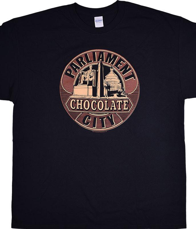 FUNKADELIC CHOCOALTE CITY BLACK T-SHIRT