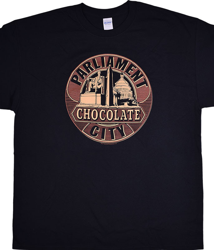 George Clinton Funkadelic Chocolate City Black T-Shirt Tee