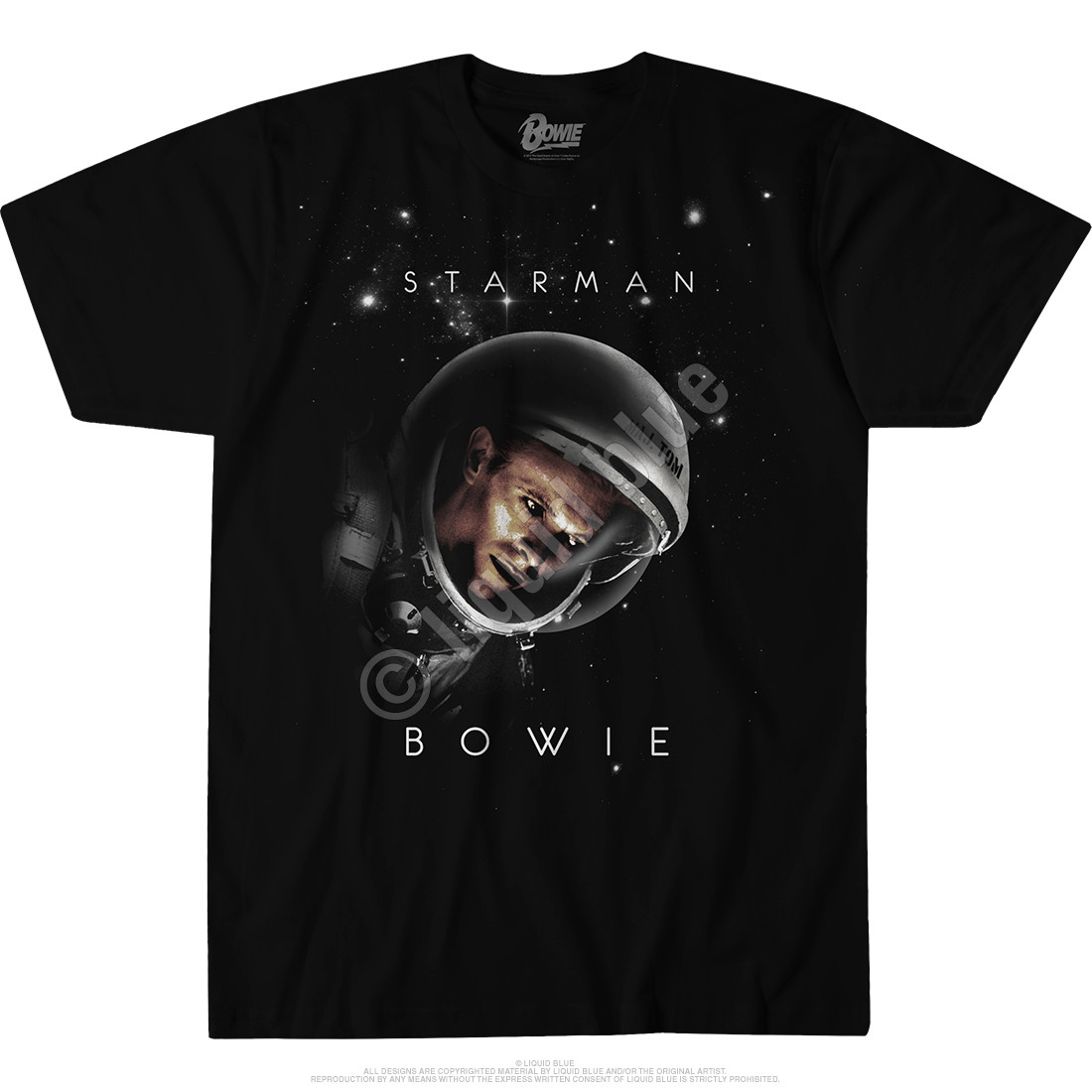 Starman Black T-Shirt