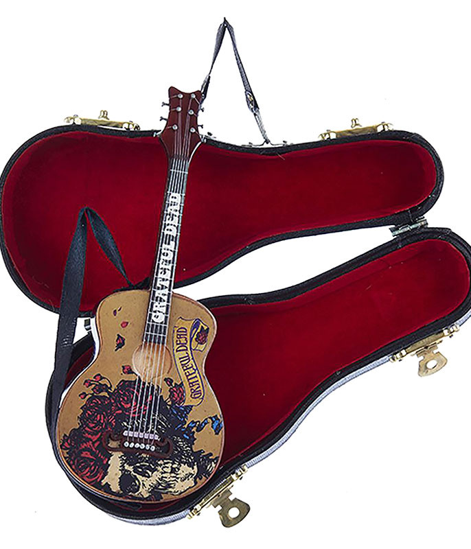 GRATEFUL DEAD GUITAR ORNAMENT