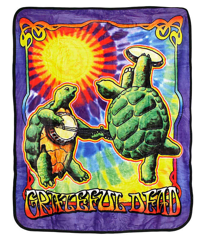 Grateful Dead GD Terrapin Sunshine Fleece Blanket