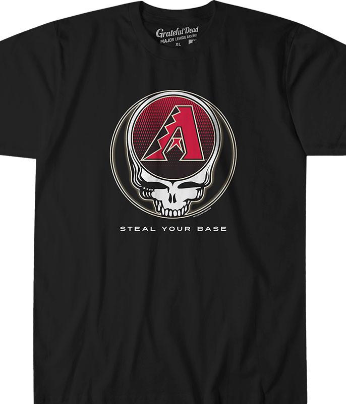 Arizona Diamondbacks Steal Your Base Red Athletic T-Shirt