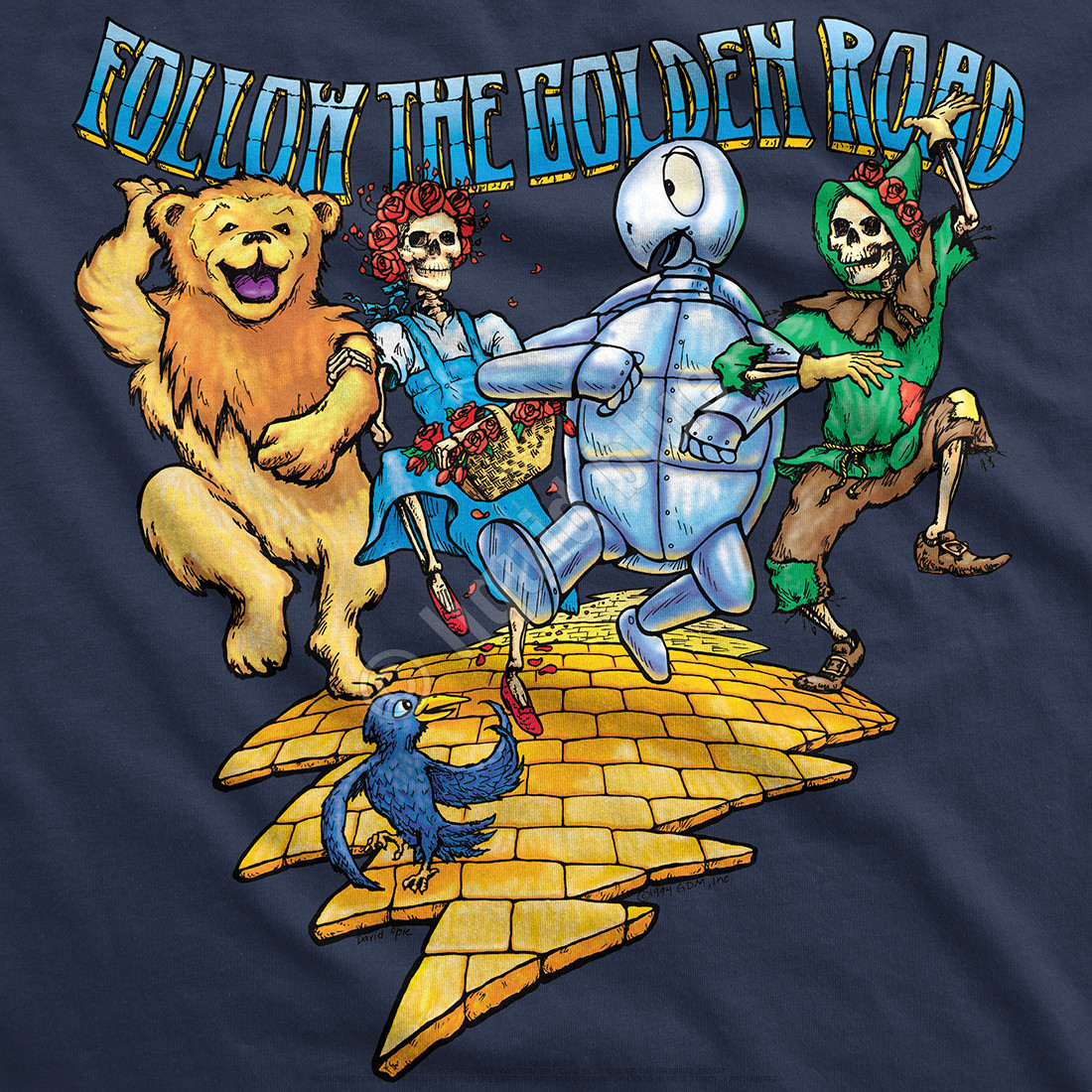Golden Road Navy T-Shirt