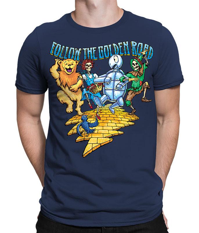 Golden Road Navy T-Shirt