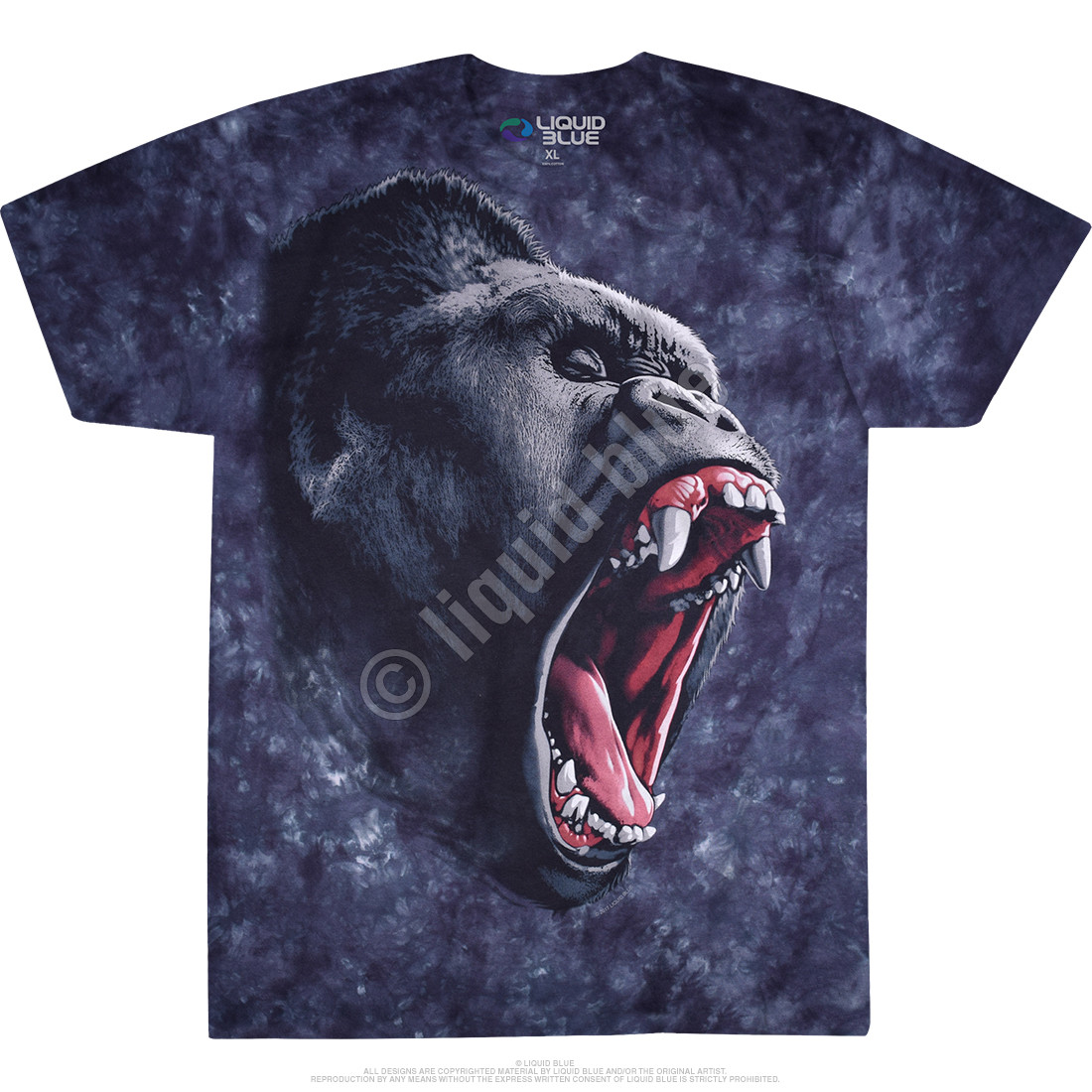 Gorilla Power Tie-Dye T-Shirt