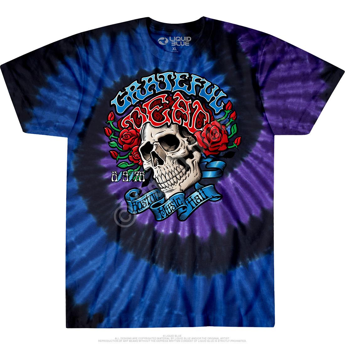 Boston Music Hall Tie-Dye T-Shirt