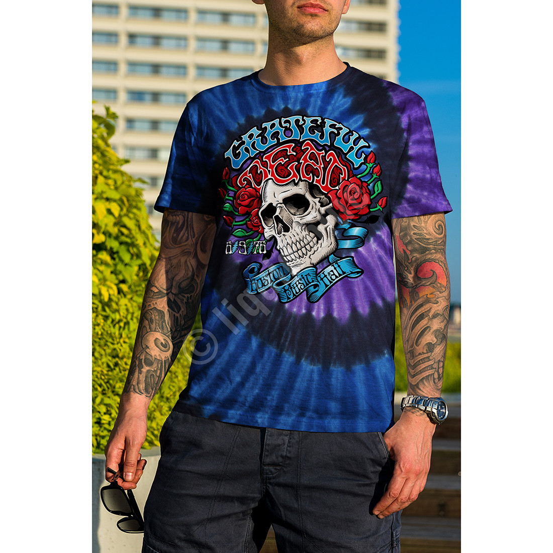 Boston Music Hall Tie-Dye T-Shirt