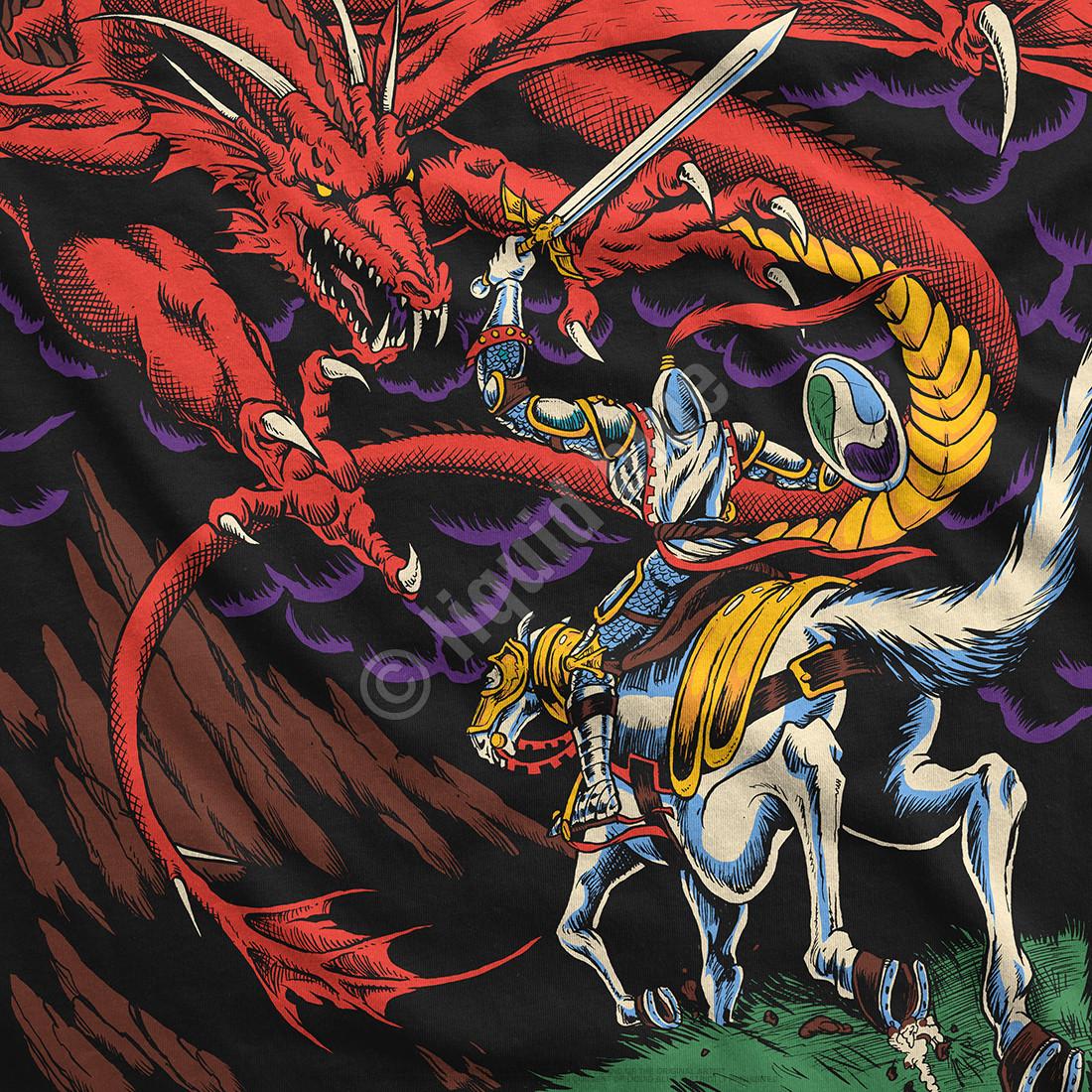 Dragon Black T-Shirt
