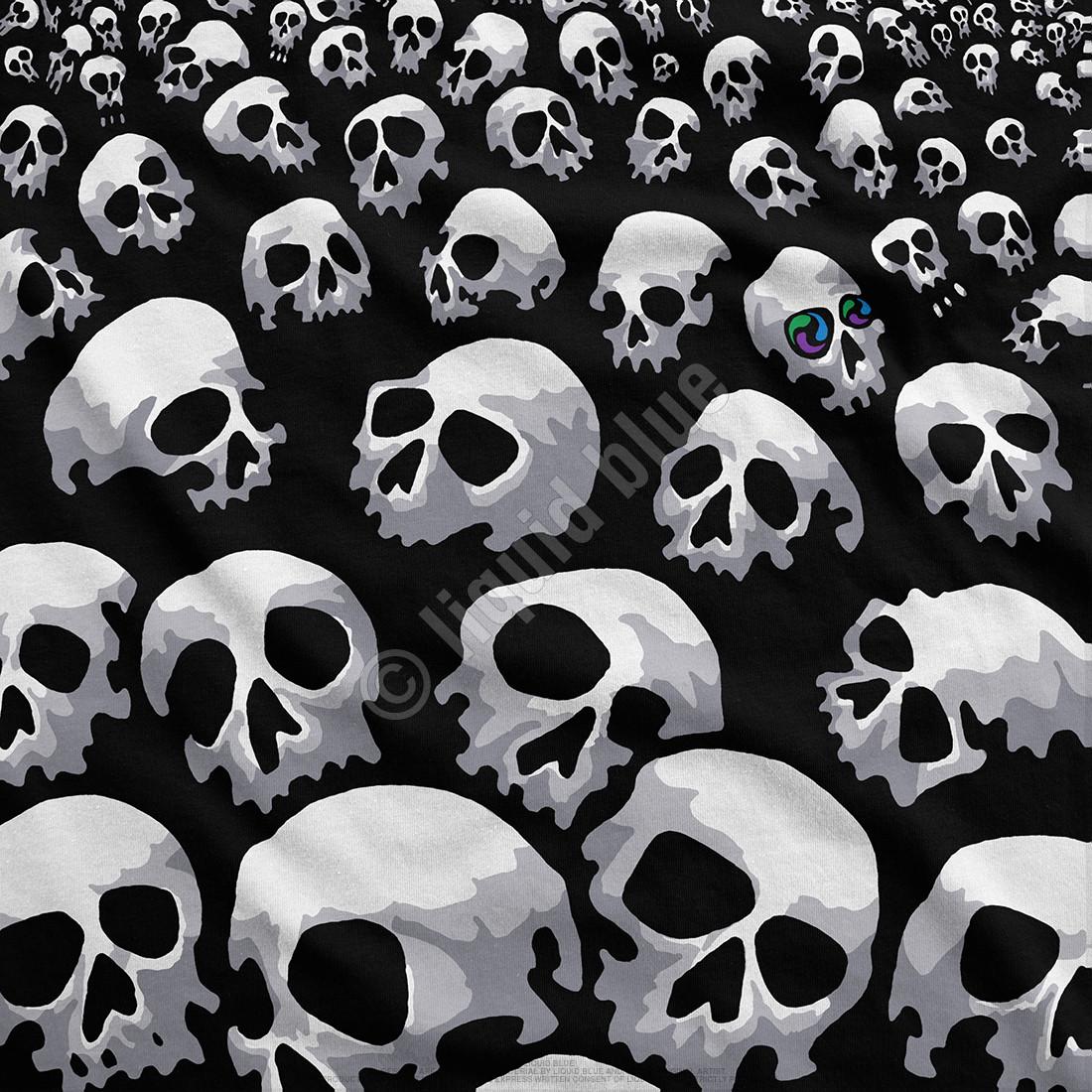 Son Of Skulls Black T-Shirt
