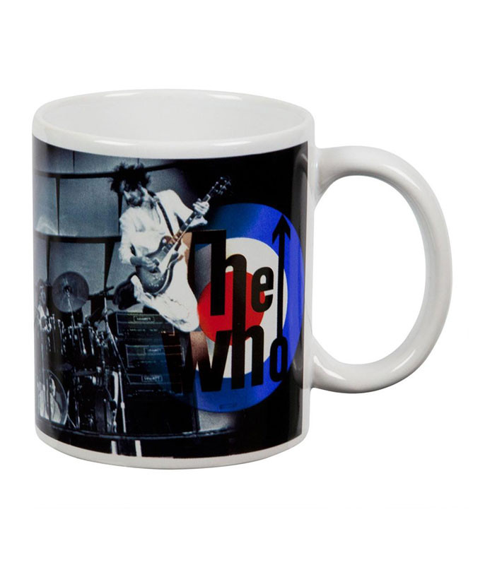 The Who On Stage White Mug