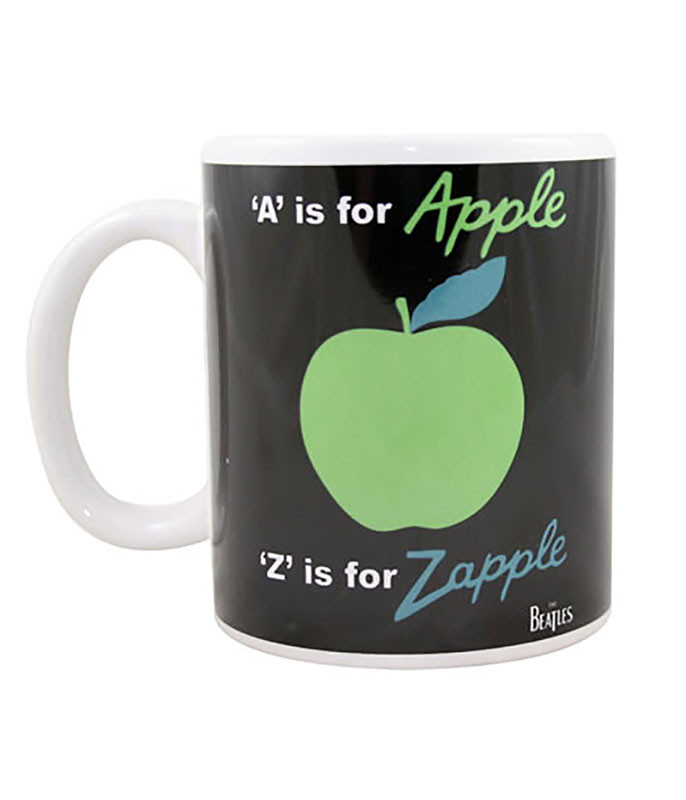 A is for Apple White Mug