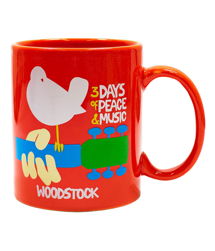 Dove Red Mug
