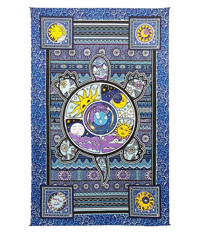 Dan Morris Turtle 3-D Tapestry