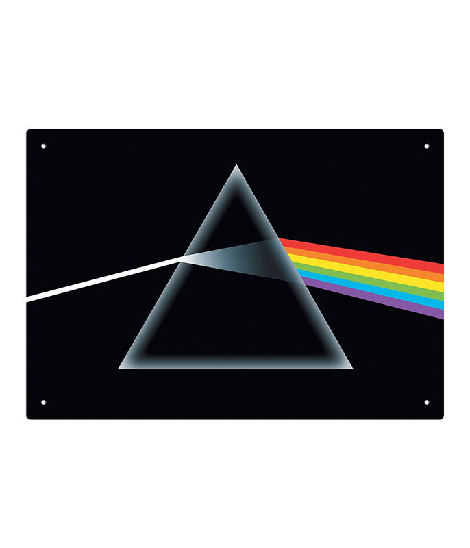 Pink Floyd Dark Side Tin Sign