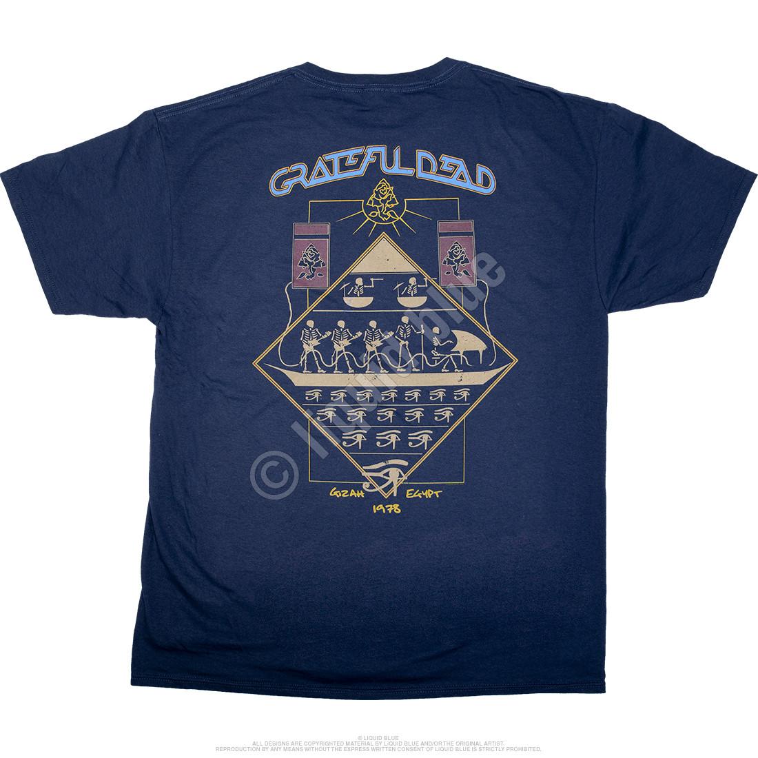 Egyptian Crew Navy T-Shirt