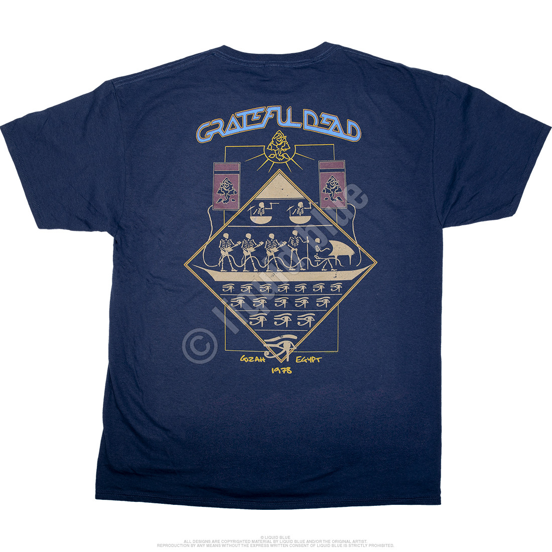 Egyptian Crew Navy T-Shirt