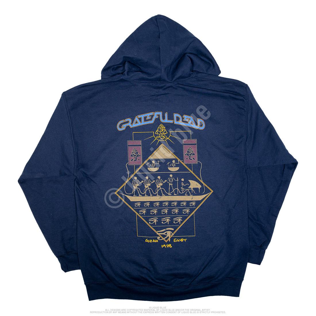 Egyptian Crew Navy Zipper Hoodie