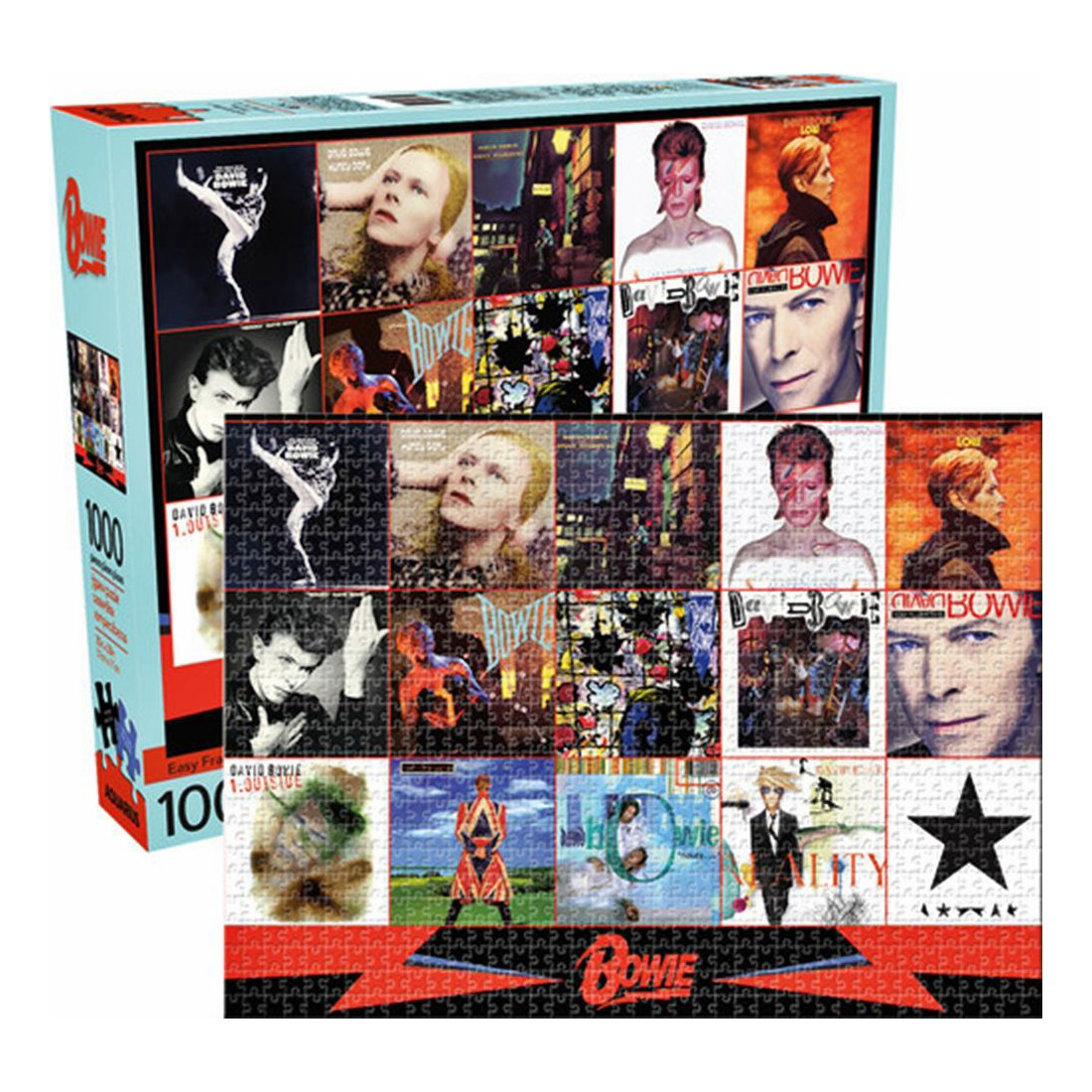 David Bowie Albums 1000pc Puzzle