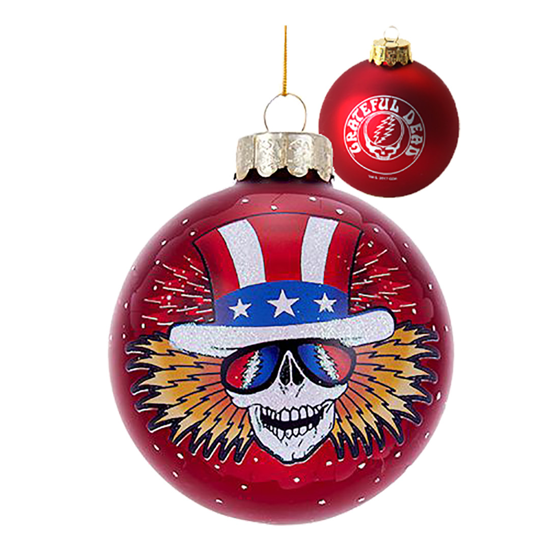 GD Uncle Sam 80mm Ball Ornament
