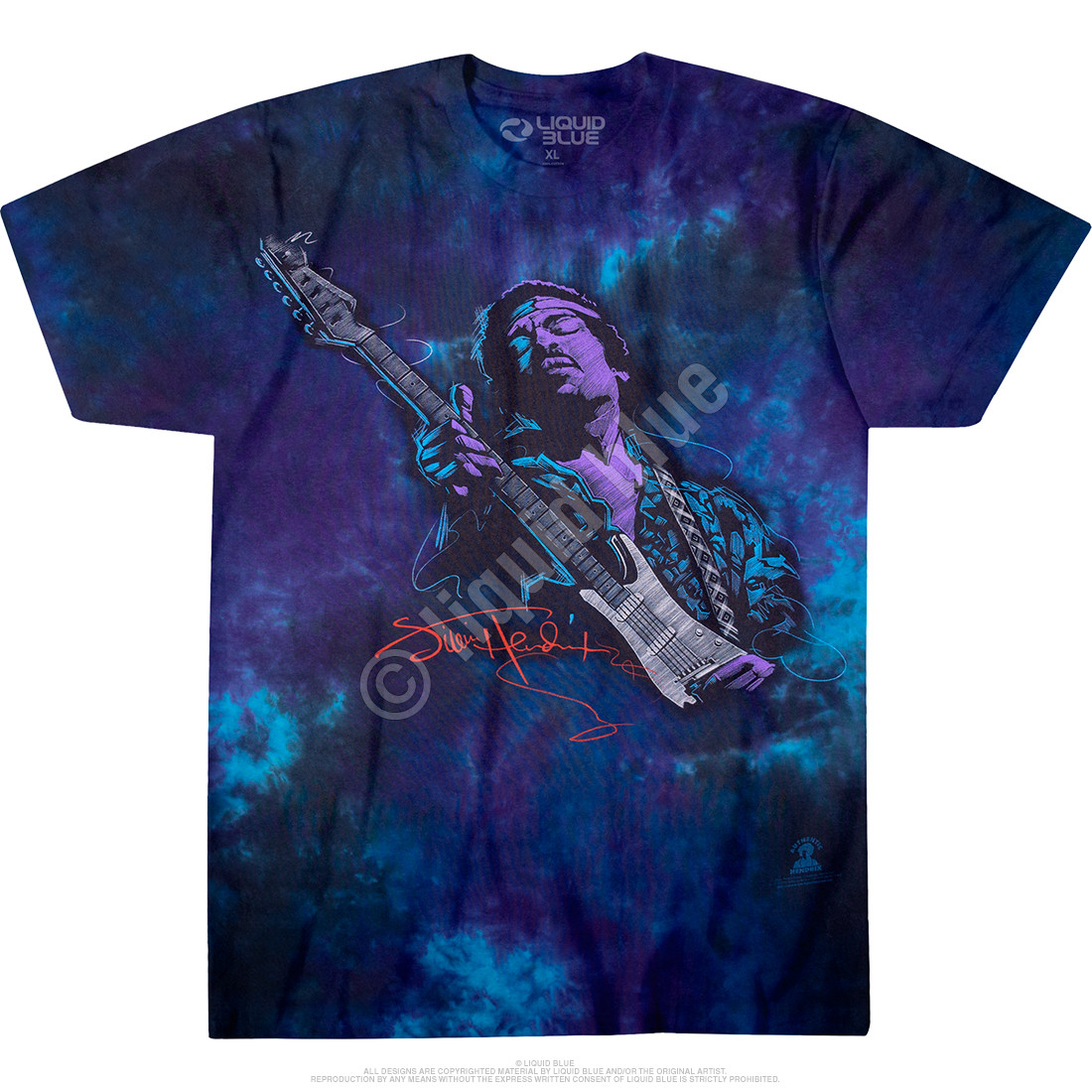 Soul Power Tie-Dye T-Shirt