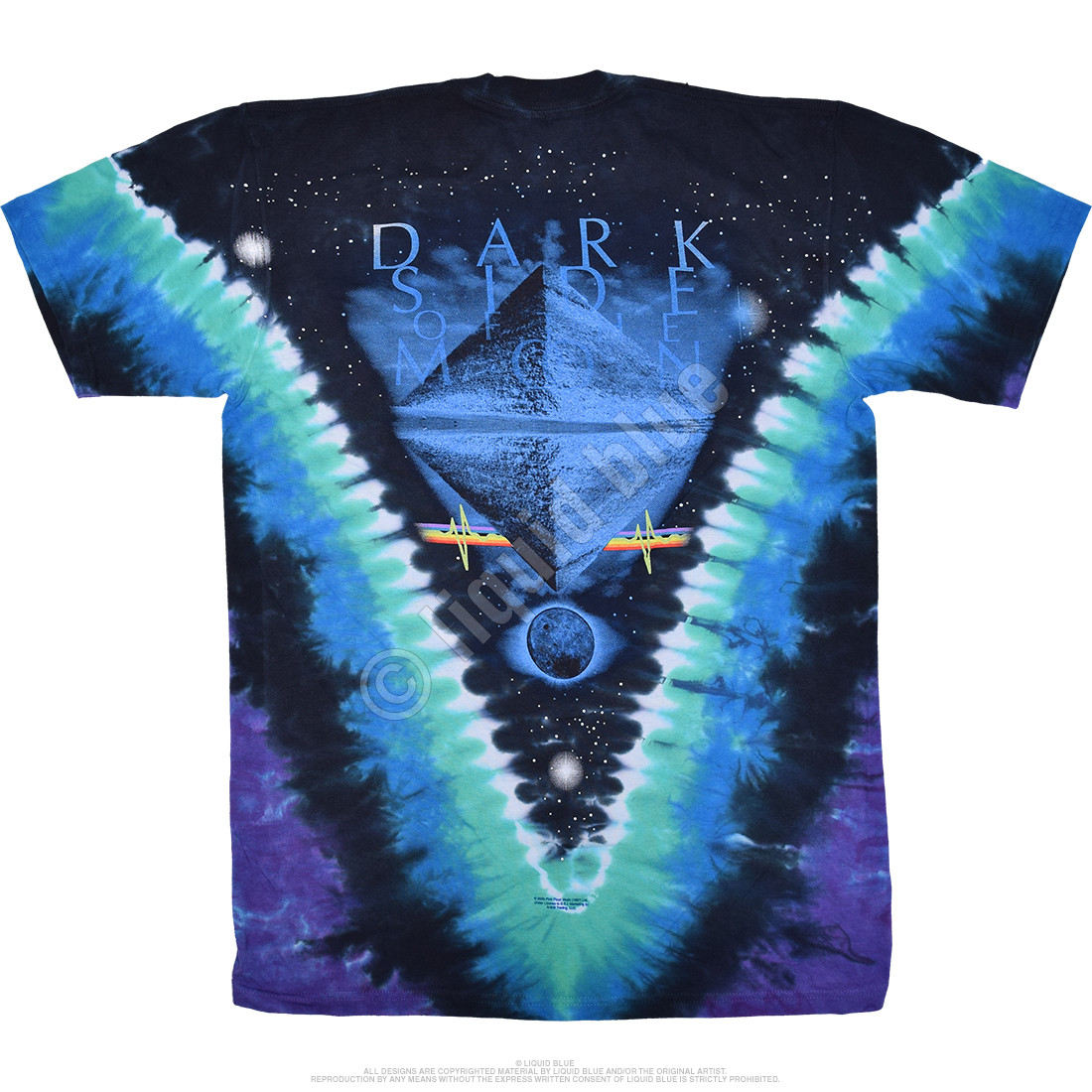 Eclipsed by The Moon Tie-Dye T-Shirt