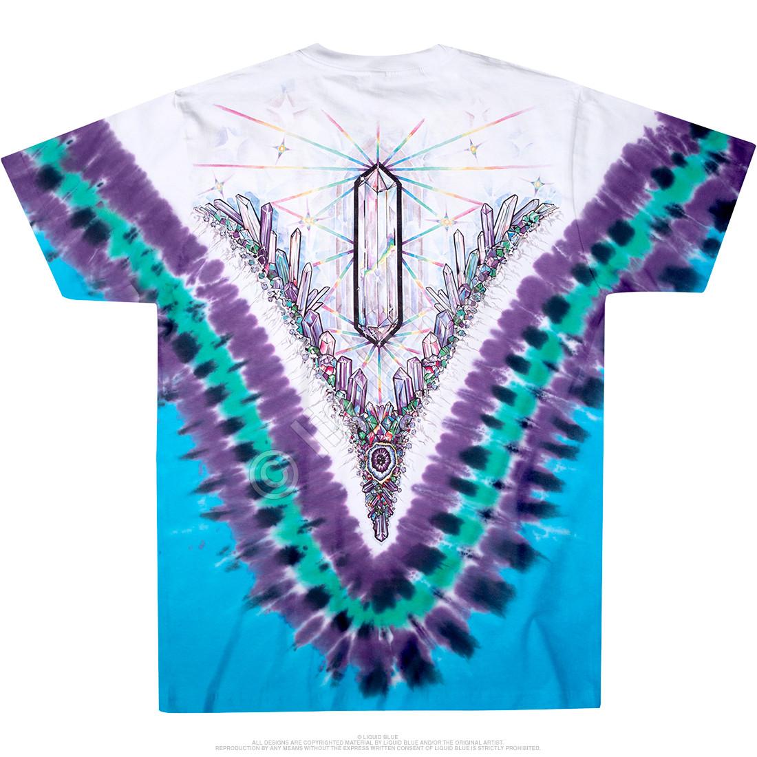 Crystal Top Tie-Dye T-Shirt