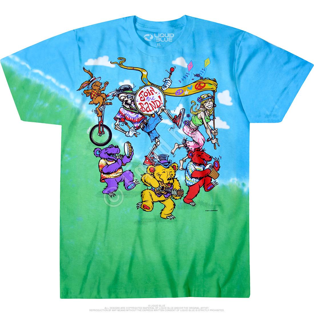 New GRATEFUL DEAD Taxi New York City Tie Dye T Shirt