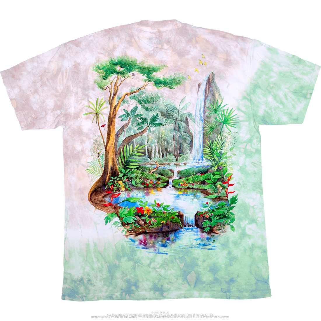 Rainforest Tie-Dye T-Shirt