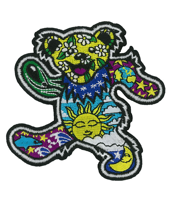 Grateful Dead GD Dan Morris Bear Patch