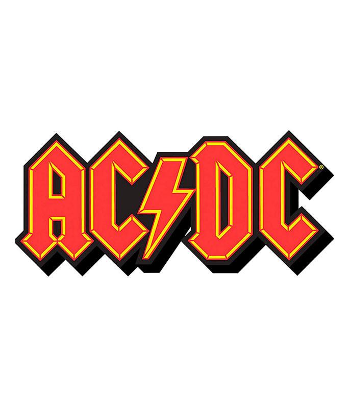 AC-DC Logo Chunky Magnet