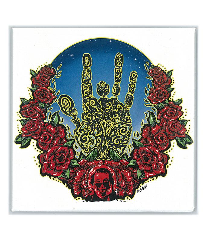 Garcia Palm & Roses Magnet