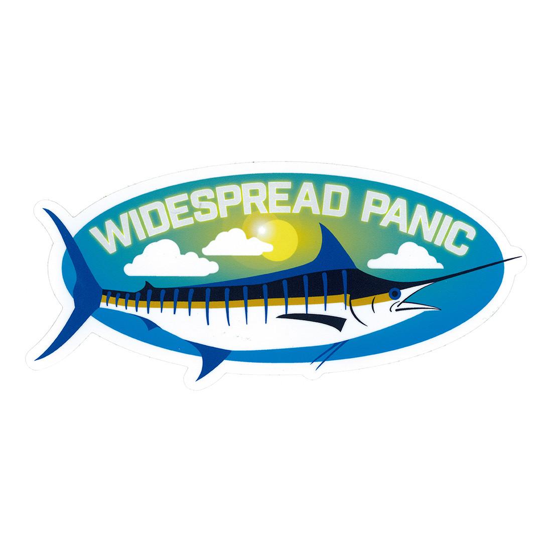 Widespread Panic Blue Marlin Sticker