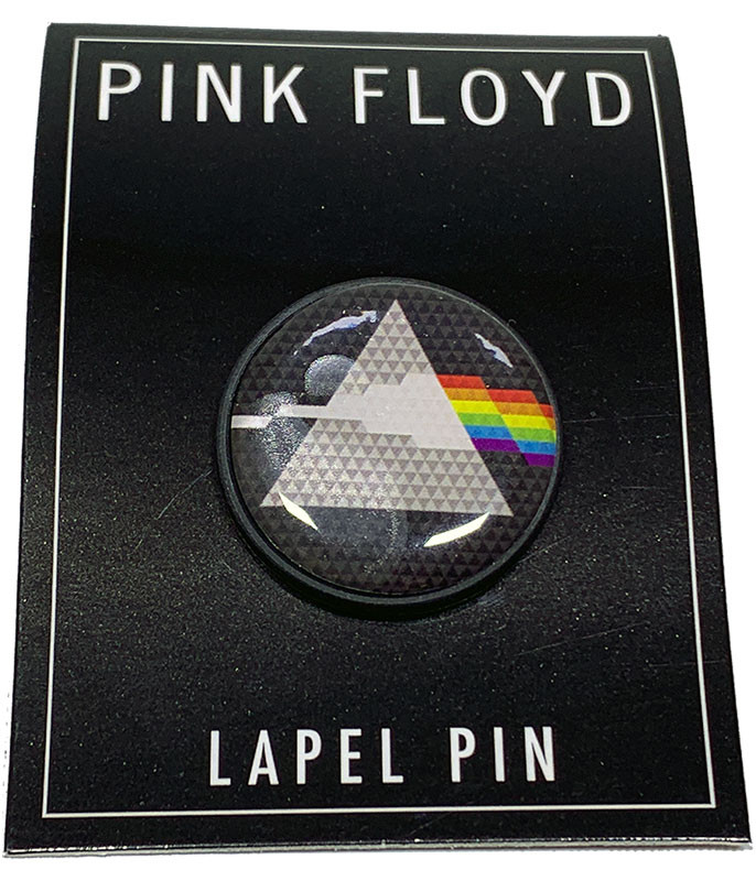 Pink Floyd Dark Side Circle Lapel Pin