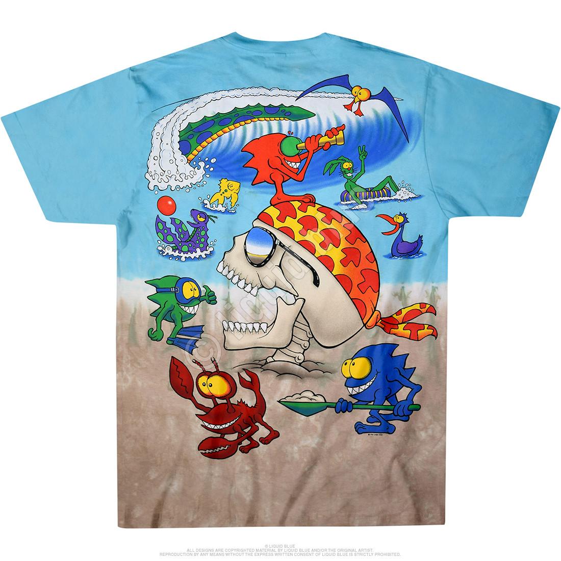 Mars Beach Joey Mars Tie-Dye T-Shirt