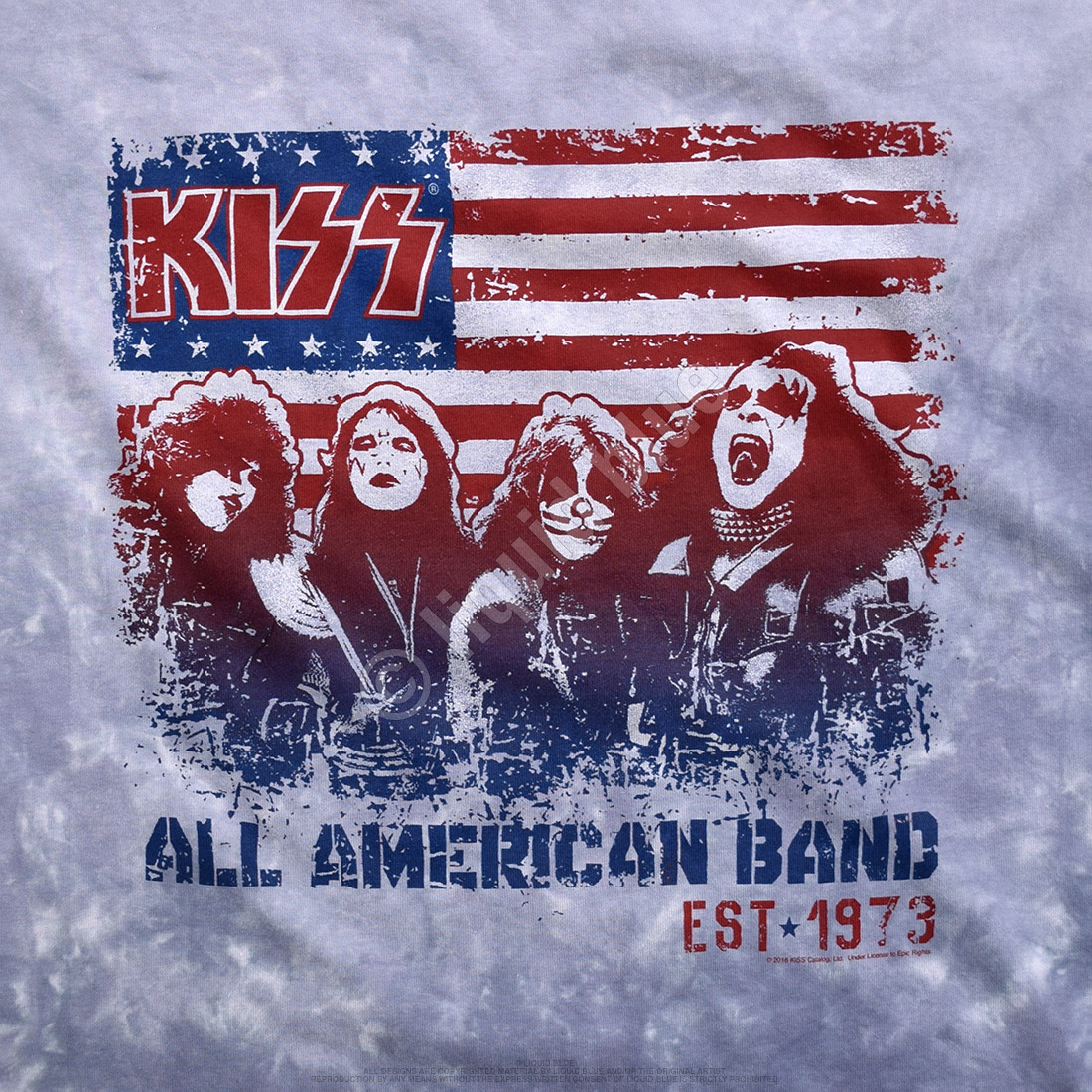 All American Band Tie-Dye T-Shirt
