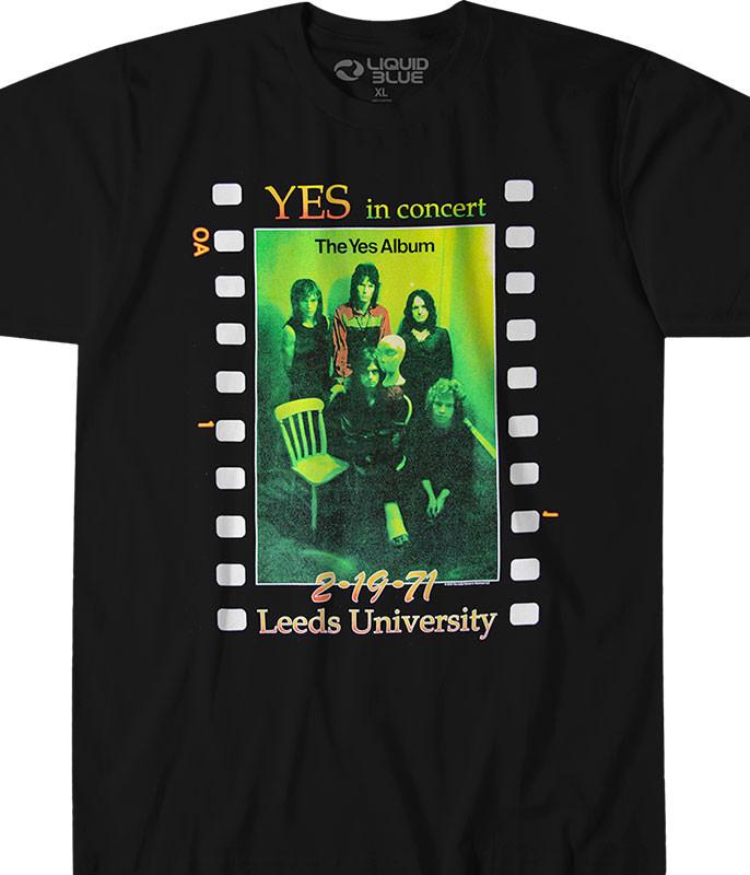 Live At Leeds Black Athletic T-Shirt