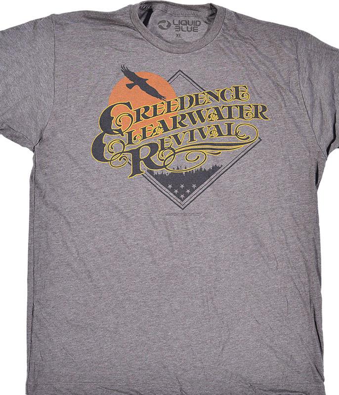 Bayou Country Grey Poly Cotton T-Shirt