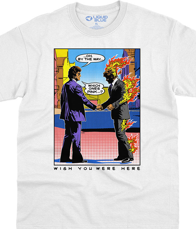 WYWH Pop Art White T-Shirt