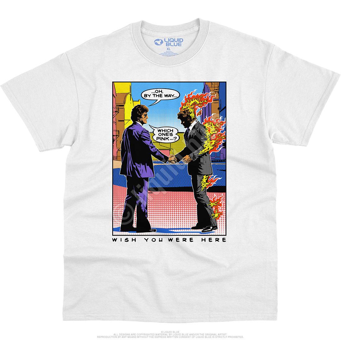 WYWH Pop Art White T-Shirt