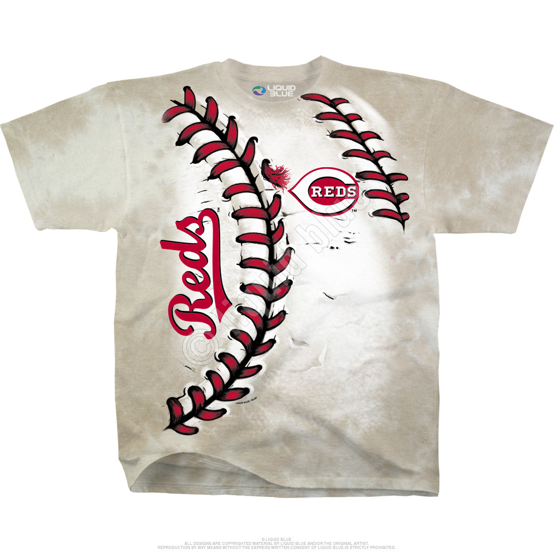 Cincinnati Reds Youth Hardball Tie-Dye T-Shirt