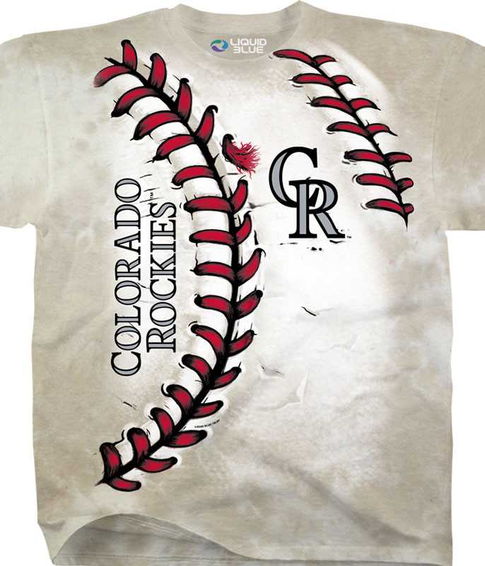 Colorado Rockies Youth Hardball Tie-Dye T-Shirt