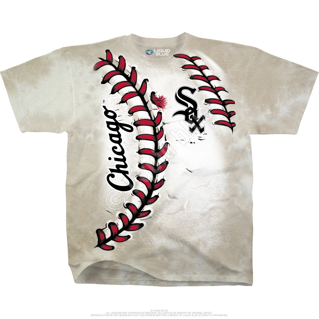 Chicago White Sox Youth Hardball Tie-Dye T-Shirt