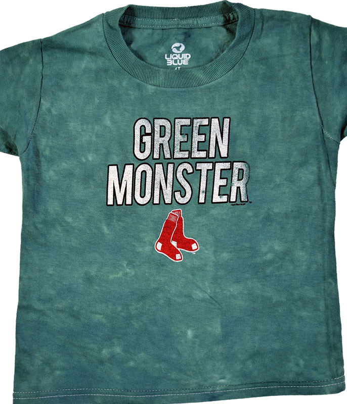 MLB Boston Red Sox Youth Green Monster Tie-Dye T-Shirt Tee