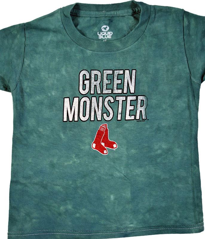 MLB Boston Red Sox Youth Green Monster Tie-Dye T-Shirt Tee