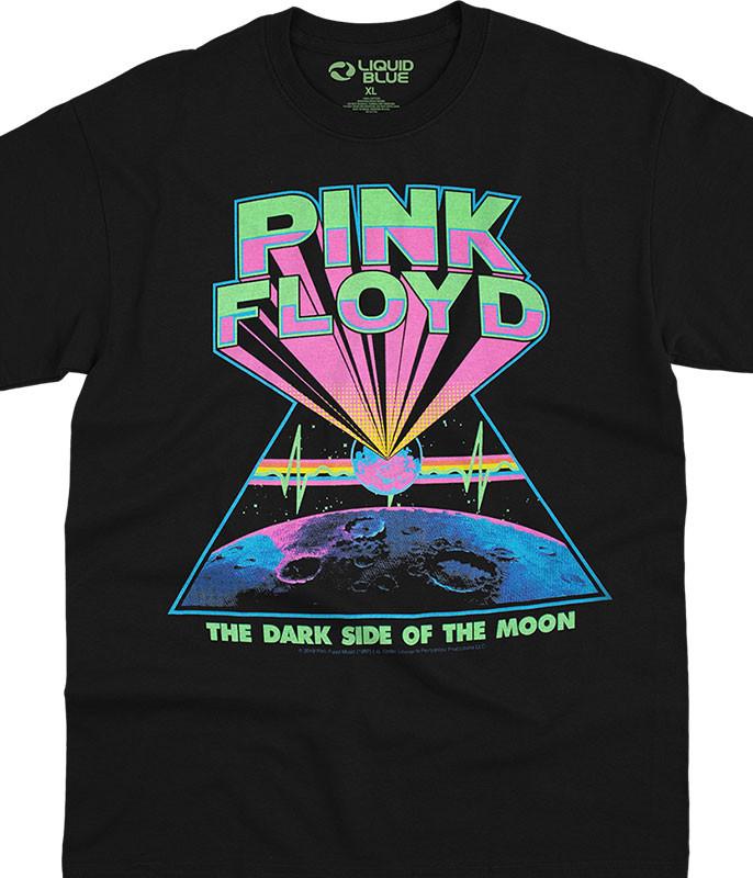 Dark Side Blacklight Black T-Shirt
