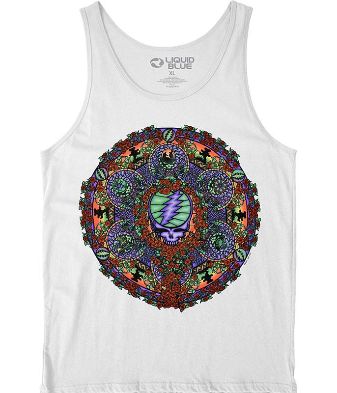 Celtic Mandala White Tank Top T-Shirt