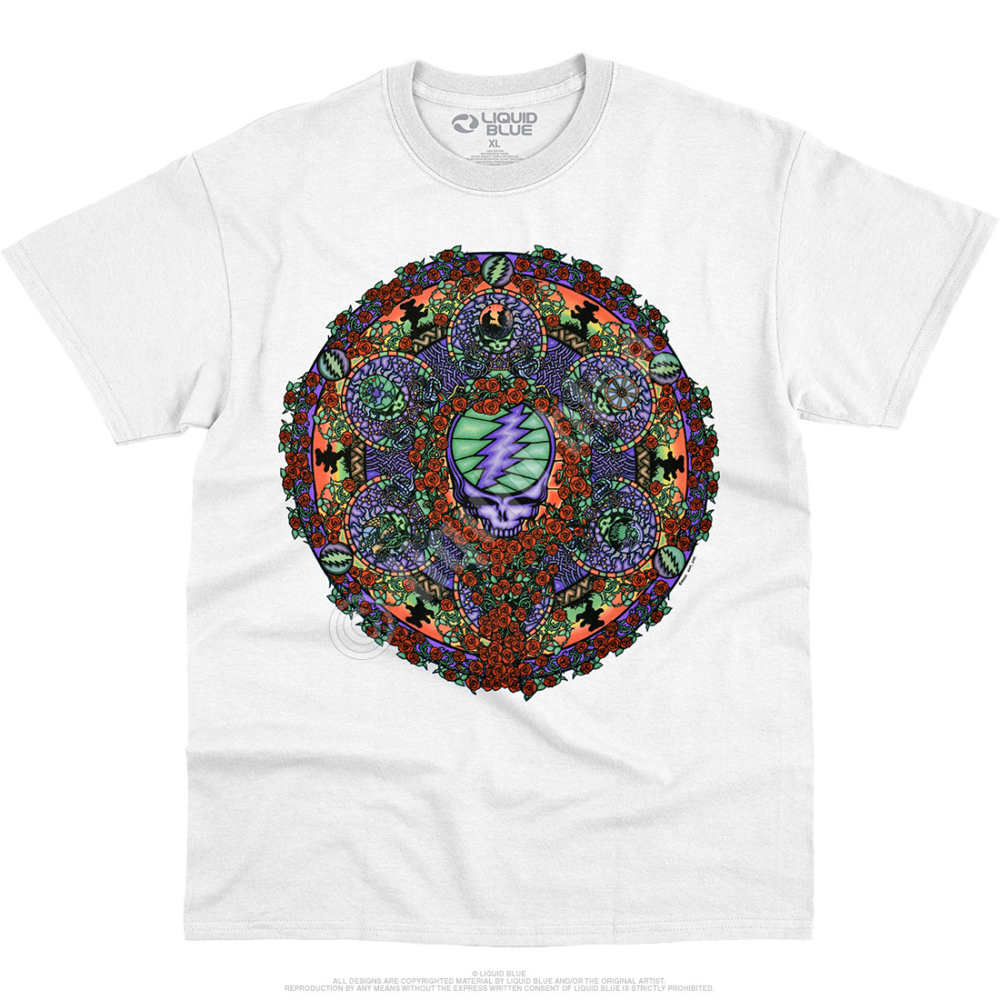 Celtic Mandala White T-Shirt