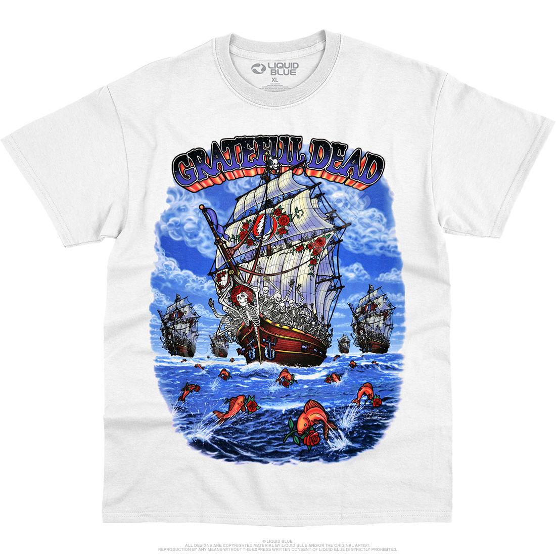 Ship of Fools White T-Shirt