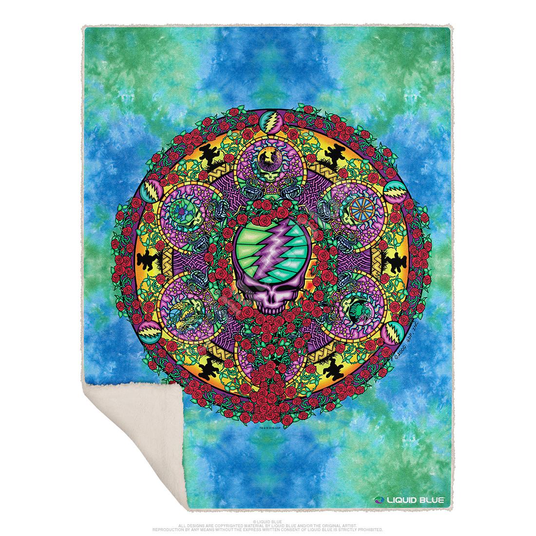 Celtic Mandala Fleece Throw Blanket